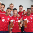 Thomas Mueller FC Bayern Muenchen And Paulaner Photo Session