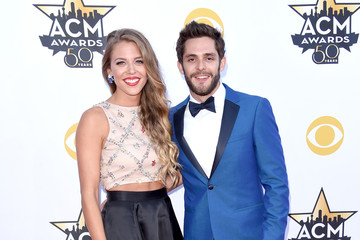 Thomas Rhett Lauren Gregory 50th Academy Of Country Music Awards - Arrivals