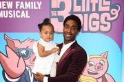 "Simon Webbe attends a VIP performance of ""The Three Little Pigs"" at Palace Theatre on August 6, 2015 in London, England."