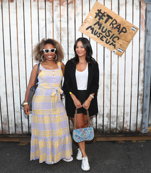Lil Trap House Exhibition Launch Event [clothing,street fashion,fashion,snapshot,dress,design,footwear,plaid,pattern,textile,los angeles,california,delicious pizza,lil trap house exhibition launch event,nicole plantin,thuy-anh j. nguyen]