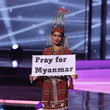 Thuzar Wint Lwin The 69th Miss Universe Competition - National Costume Show
