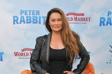 Tia Carrere Premiere of Columbia Pictures' 'Peter Rabbit' - Arrivals