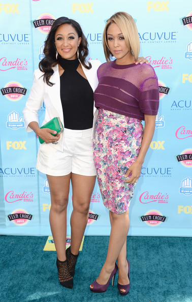 Tia Mowry - Teen Choice Awards 2013 - Arrivals