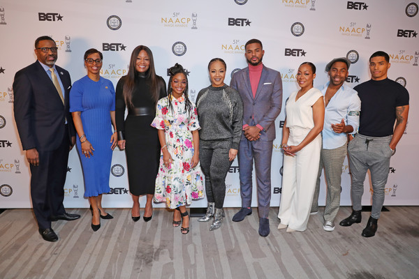 51st NAACP Image Awards Nomination Announcement [product,event,design,team,tourism,management,company,white-collar worker,award,derrick johnson,trevor jackson,tichina arnold,erica campbell,connie orlando,marsai martin,rome flynn,naacp image awards,karen boykin-towns,nomination announcement,erica campbell,trevor jackson,tichina arnold,51st naacp image awards,photograph,photography,stock photography,image]