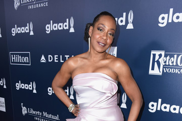 Tichina Arnold 28th Annual GLAAD Media Awards in LA - Red Carpet & Cocktails