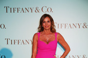 Cristina Parodi attends Tiffany & Co. celebration of the opening of its new store in Rome at  at Villa Aurelia on May 11, 2016 in Rome, Italy.