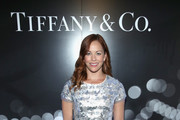Actor Amy Paffrath at the Tiffany HardWear Los Angeles Preview with The Art of Elysium at Elysium Art Salons on April 26, 2017 in Los Angeles, California.