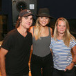 Tiffany Moon ACM Lifting Lives Music Camp Studio Day With Kelsea Ballerini and Ross Copperman