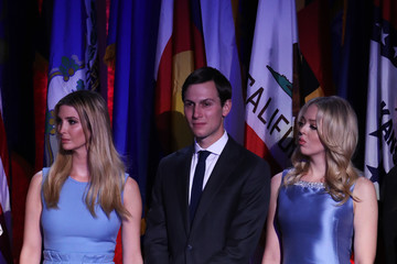 Tiffany Trump Republican Presidential Nominee Donald Trump Holds Election Night Event In New York City