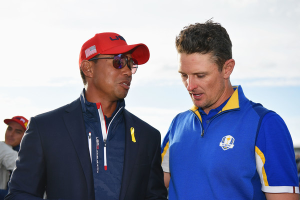 2018 Ryder Cup - Singles Matches [recreation,championship,coach,team,competition,europe,united states,france,paris,le golf national,matches,ryder cup,singles matches,tiger woods,justin rose]