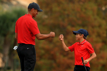 Tiger Woods European Best Pictures Of The Day - December 21