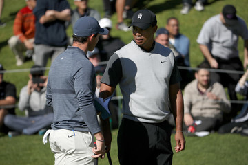 Tiger Woods Rory McIlroy Genesis Open - Round One