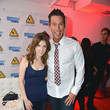 Anna Kendrick and David Bromstad