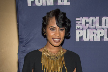 Tika Sumpter 'The Color Purple' Broadway Opening Night - Arrivals and Curtain Call