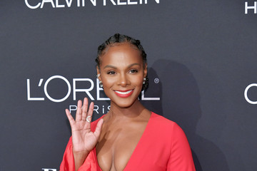 Tika Sumpter ELLE's 25th Annual Women In Hollywood Celebration Presented By L'Oreal Paris, Hearts On Fire And CALVIN KLEIN - Red Carpet