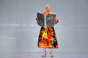 "Tilda Swinton ""karl For Ever"" At Le Grand Palais"
