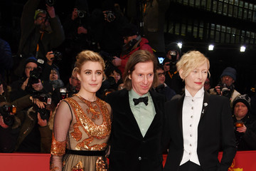 Tilda Swinton Wes Anderson Opening Ceremony & 'Isle of Dogs' Premiere Red Carpet - 68th Berlinale International Film Festival
