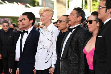 """Tilda Swinton """"OSS 117: From Africa With Love"""" Final Screeing & Closing Ceremony Red Carpet - The 74th Annual Cannes Film Festival"""