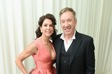Tim Allen Jane Hajduk 26th Annual Elton John AIDS Foundation Academy Awards Viewing Party With Cocktails by Clase Azul Tequila