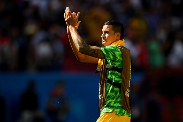 Tim Cahill France vs. Australia: Group C - 2018 FIFA World Cup Russia