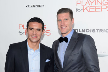 """Tim Cahill Film District And Chrysler With The Cinema Society Premiere Of """"Playing For Keeps"""" - Arrivals"""