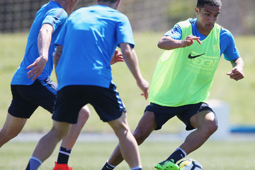 Tim Cahill Melbourne City Training Session