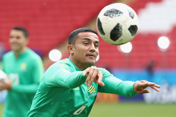 Tim Cahill Australia Media Opportunity And Training Session