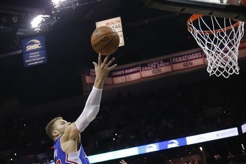 Tim Duncan Blake Griffin Los Angeles Clippers v San Antonio Spurs - Game Four