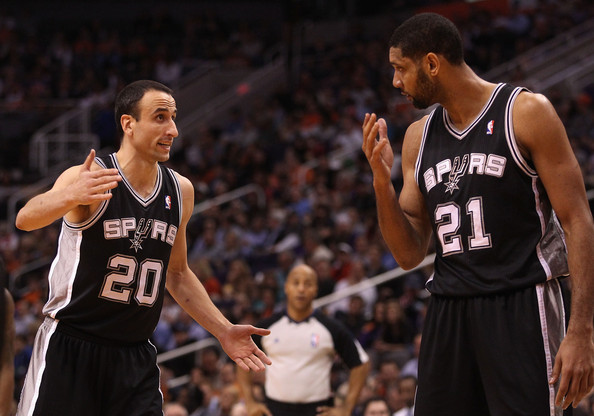 Tim Duncan and Manu Ginobili Photos - 36 of 81