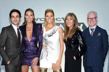 Tim Gunn Heidi Klum Meets Her Double: New Project Runway Experience Launches at Madame Tussauds New York