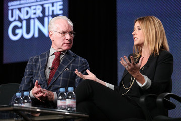 Tim Gunn Sara Rea Winter TCA Tour: Day 1