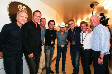 Tim McGraw 2015 iHeartRadio Country Festival - Backstage