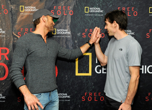 Screening Of 'Free Solo' Hosted By Tim McGraw