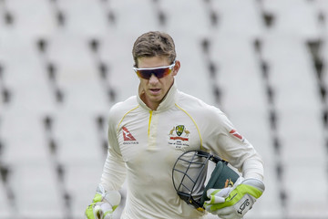 Tim Paine South Africa vs. Australia - 4th Test: Day 2