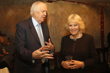 Tim Rice The Prince of Wales & Duchess of Cornwall Visit Wilton's Music Hall