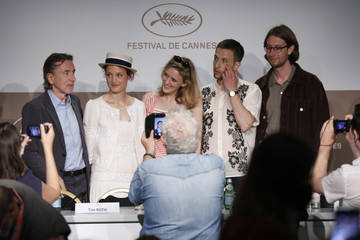 """Tim Roth Vicky Krieps """"Bergman Island"""" Press Conference - The 74th Annual Cannes Film Festival"""