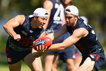 Tim Smith Melbourne Demons Training Session