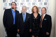 Penn Jillette, Tim Jenison, Farley Ziegler and Raymond Teller attend the 'Tim's Vermeer' premiere during the 51st New York Film Festival at The Film Society of Lincoln Center, Walter Reade Theatre on October 3, 2013 in New York City.