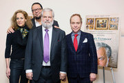 (L-R) Farley Ziegler, Penn Jillette, Tim Jenison and Teller attend the 'Tim's Vermeer' special screening at Museum of Modern Art on January 28, 2014 in New York City.
