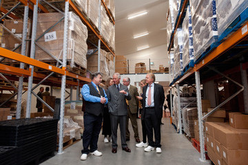 Tim Walker The Prince of Wales Visits 'The House of Dorchester' Chocolate Makers on Poundbury