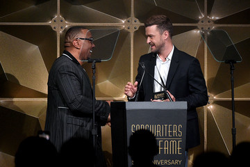 Timbaland Justin Timberlake Songwriters Hall Of Fame 50th Annual Induction And Awards Dinner - Show