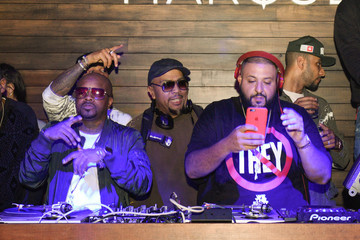 Timbaland Swizz Beatz Marquee Takeover at Verso - Big Game Weekend Presented By Hennessy V.S - Day 4