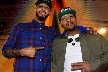 Timbaland Swizz Beatz The Dean Collection X BACARDI Untameable House Party - Day 2