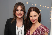 "Mariska Hargitay and Ashley Judd attend ""Time's Up"" during the 2018 Tribeca Film Festival at Spring Studios on April 28, 2018 in New York City."