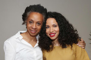 "Nina Shaw and Jurnee Smollett-Bell attend ""Time's Up"" during the 2018 Tribeca Film Festival at Spring Studios on April 28, 2018 in New York City."
