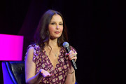 "Ashley Judd speaks onstage at ""Time's Up"" during the 2018 Tribeca Film Festival at Spring Studios on April 28, 2018 in New York City."