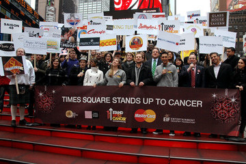 Michael Robichaud Times Square New Year's Eve, MasterCard Worldwide and Times Square Alliance Announce Fundraising Initiative for Stand Up To Cancer