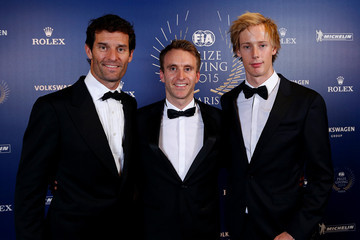 Timo Bernhard 2015 FIA Prize-Giving Ceremony