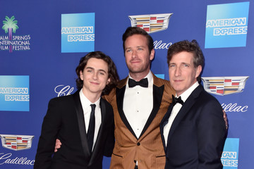Timothee Chalamet Peter Spears 29th Annual Palm Springs International Film Festival Film Awards Gala - Arrivals
