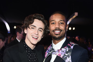 Timothee Chalamet 25th Annual Screen Actors Guild Awards - Inside